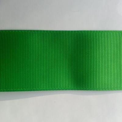 1 mètre de  ruban gros grain vert sapin 38mm de largeur