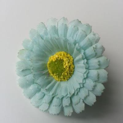 fleur artificielle gerbera en tissu verte 50mm
