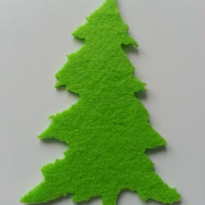 sapin en feutrine vert clair 60*90mm