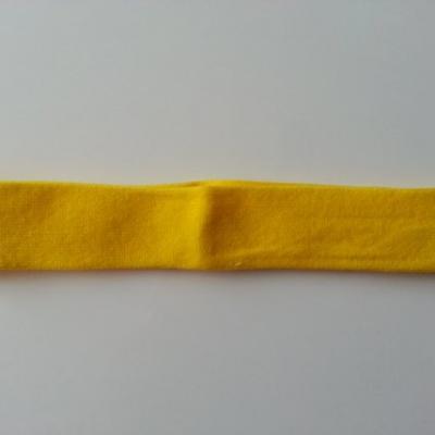 bandeau cheveux  extensible de couleur jaune idéal pour bébé
