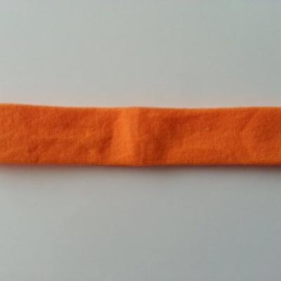 bandeau cheveux  extensible de couleur orange idéal pour bébé