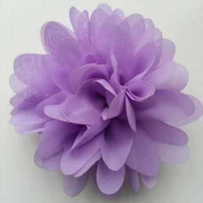 fleur mousseline mauve   10cm