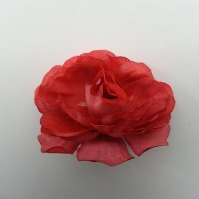 fleur artificielle en tissu de 40mm bronze
