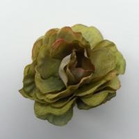 fleur artificielle en tissu de 40mm vert