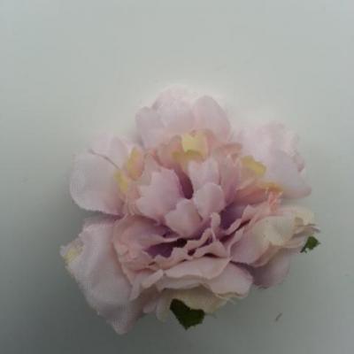 fleur artificielle en tissu de 45mm mauve