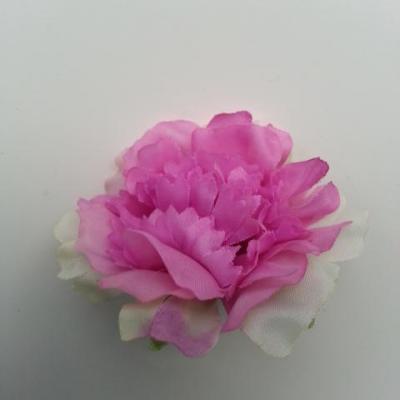 fleur artificielle en tissu de 45mm violet