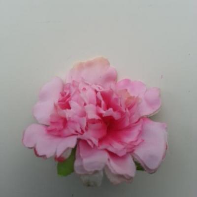 fleur artificielle en tissu de 45mm rose