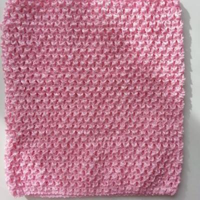bustier tube crochet  pour tutu rose 20*23cm