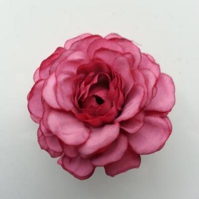 fleur artificielle en tissu prune  55mm
