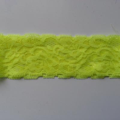 Bandeau dentelle 48mm jaune