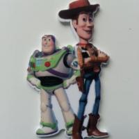 toy story buzz l'eclair et woody 35*60mm cabochon plat en résine