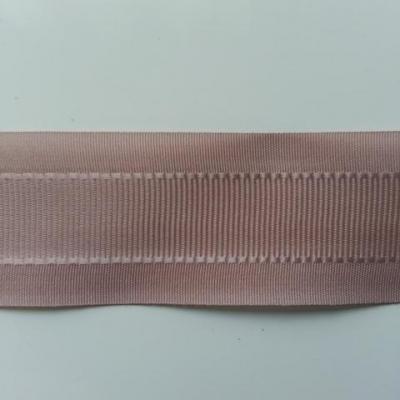 un mètre de ruban polyester beige 25mm
