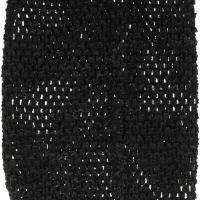 bustier tube crochet  pour tutu noir 20*23cm
