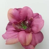 fleur artificielle en tissu 60mm vieux rose