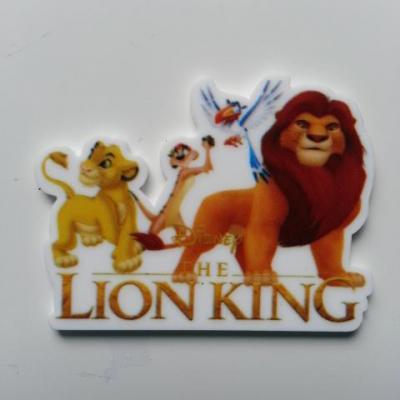cabochon plat en résine roi lion  40*32mm
