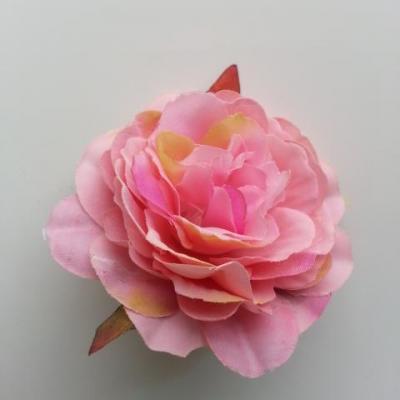 fleur artificielle en tissu de 60mm rose