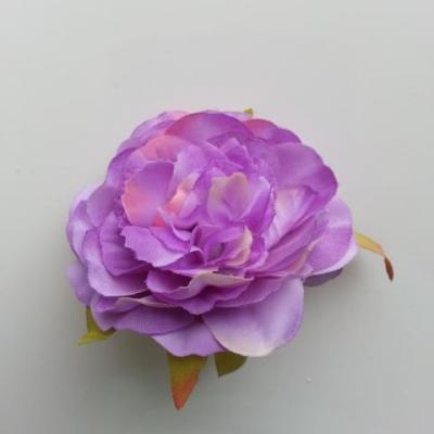 fleur artificielle en tissu de 60mm mauve