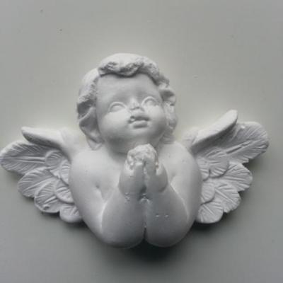 Ange en platre blanc 60*40mm