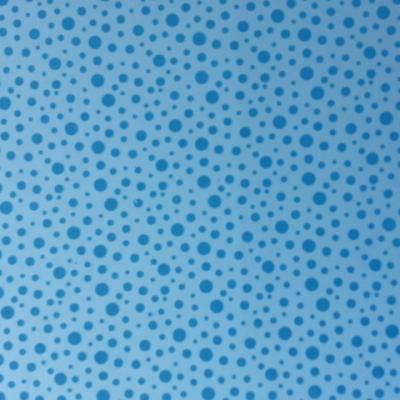 Feuille de mousse à pois 21*29.7cm bleu