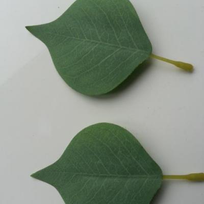 lot de 2 feuilles artificielles 70*55MM vert