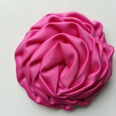 fleur satin chiffon 80mm rose fuchsia