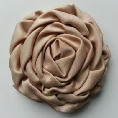 fleur satin chiffon 80mm beige