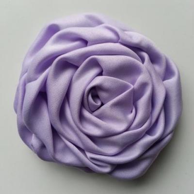 fleur satin chiffon 80mm mauve