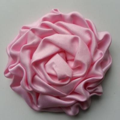 fleur satin chiffon 80mm rose