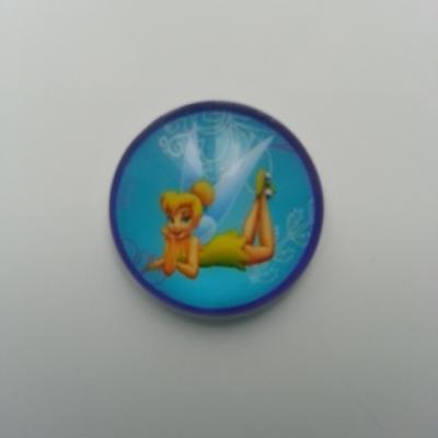 Cabochon en verre fée clochette 20mm (4)