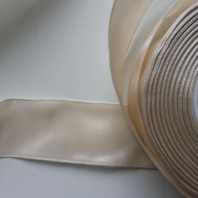 un mètre de ruban polyester ivoire   40mm