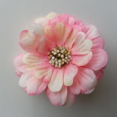 fleur artificielle en tissu 60mm rose