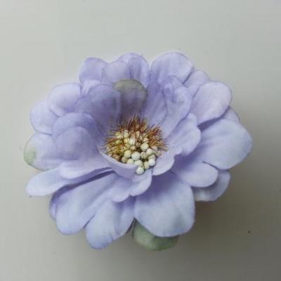 fleur artificielle en tissu 60mm mauve