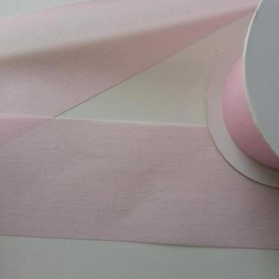 1 metre de ruban  rose   70 mm