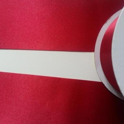 1 metre de ruban  polyester bordeaux  64 mm