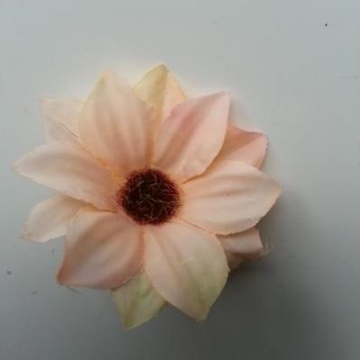 fleur artificielle marguerite en tissu 60mm peche