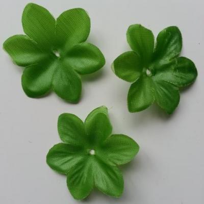 Lot de 3  feuilles artificielles vertes  55mm
