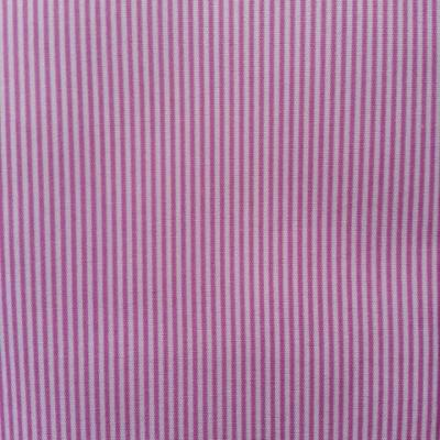 carré de tissu rayé rose et blanc 48*48cm