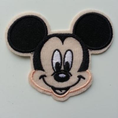 Ecusson , patch  à repasser  souris mickey 90*75mm