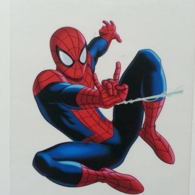 un tres joli autocollant  spiderman 90*70mm