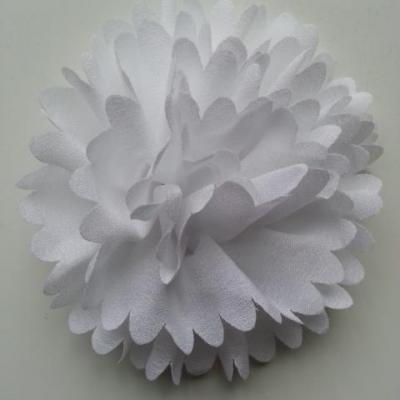 fleur mousseline 90mm blanc
