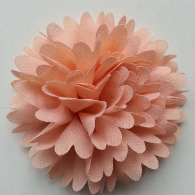 fleur mousseline 90mm peche