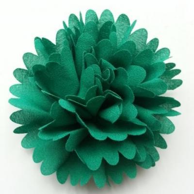 fleur mousseline 90mm vert