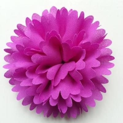 fleur mousseline 90mm violet