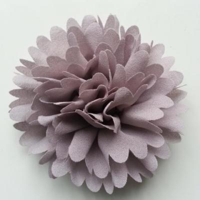 fleur mousseline 90mm gris