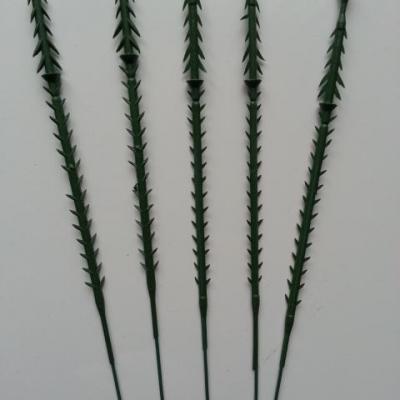 lot de 5 tiges  pour fabrication de fleurs 16cm