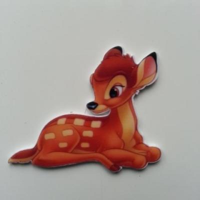 Cabochon en resine plat bambi  38*45mm