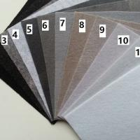 Feuille de feutrine unie 15 cm *15cm gris N3
