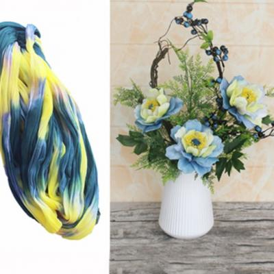 N0028 collant triple couleur  pour la création de fleurs, papillons, raquettes dragées