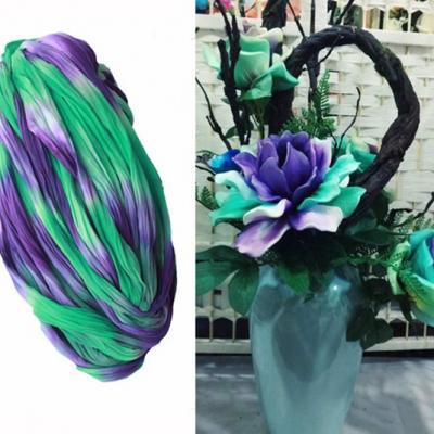 N0030 collant triple couleur  pour la création de fleurs, papillons, raquettes dragées