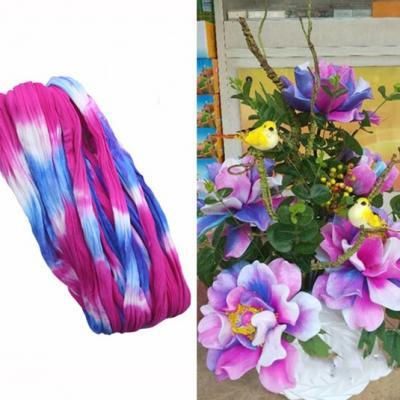 N0032 collant triple couleur  pour la création de fleurs, papillons, raquettes dragées